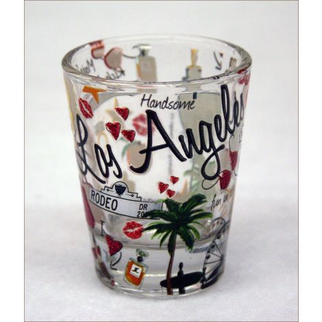 Los Angeles Icons Shotglass