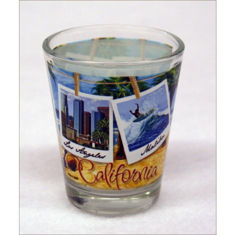 3 Piece California Beach Shotglass Set