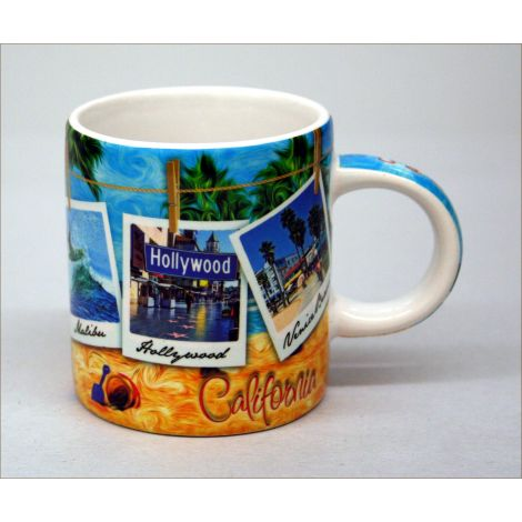 California Beach Espresso Mug 3oz.