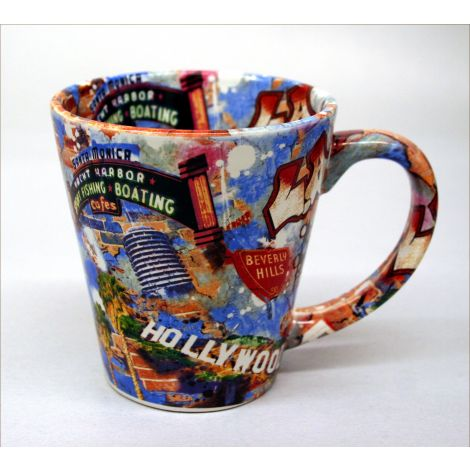 Los Angeles Collage Mug