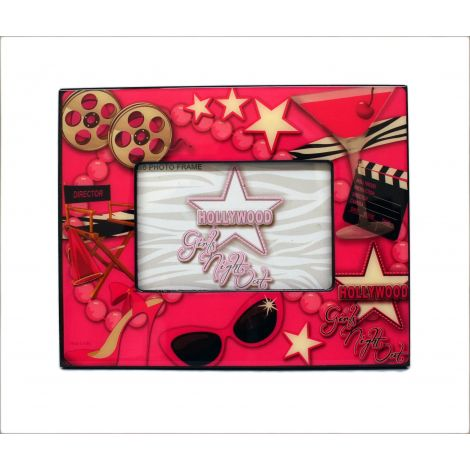 Hollywood Girls Night Out Picture Frame- 4x6