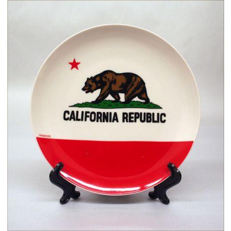 California State Flag Souvenir Plate