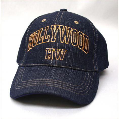 Hollywood Denim Cap
