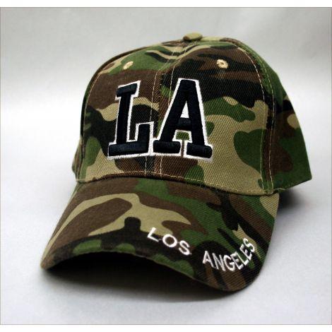 """Los Angeles """"LA"""" Cap - Green"""