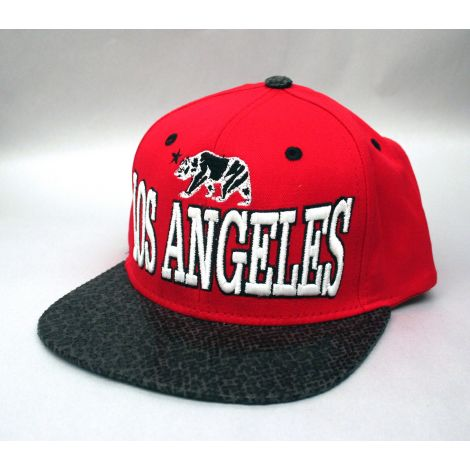 Los Angeles Cap - Red