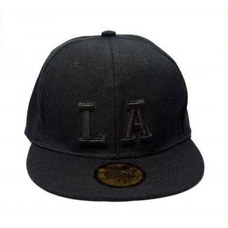 """Los Angeles """"LA"""" Cap - Black"""