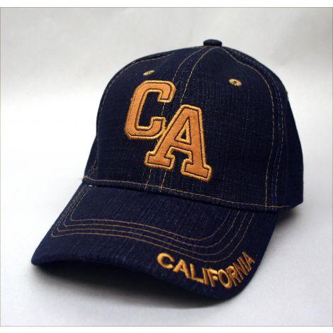 """California """"CA"""" Cap - Denim"""