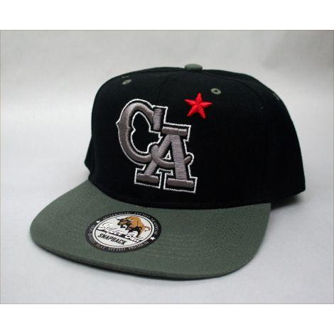 """California """"CA"""" Cap - Black"""