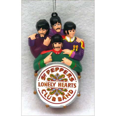 The Beatles Lonely Hearts Christmas Ornament