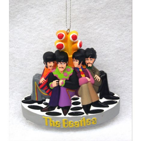 The Beatles Yellow Submarine Christmas Ornament