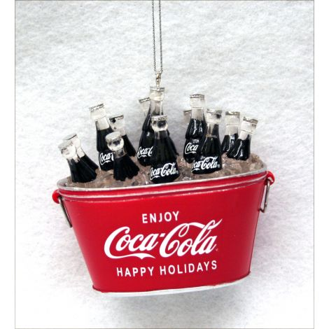 Coca-Cola Happy Holidays Christmas Ornament
