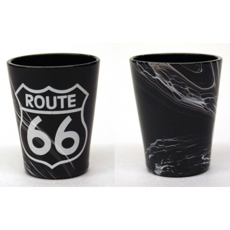 Route 66 Shotglass - Black