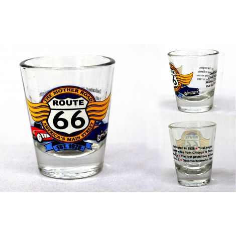 The Mother Road Route 66 Shotglass