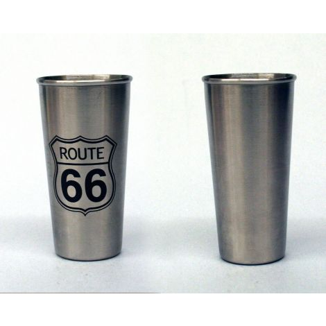 Stainless Steel Route 66 Shooter