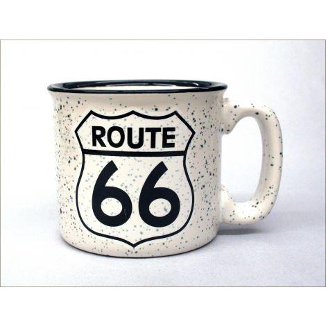Route 66 Mug - White