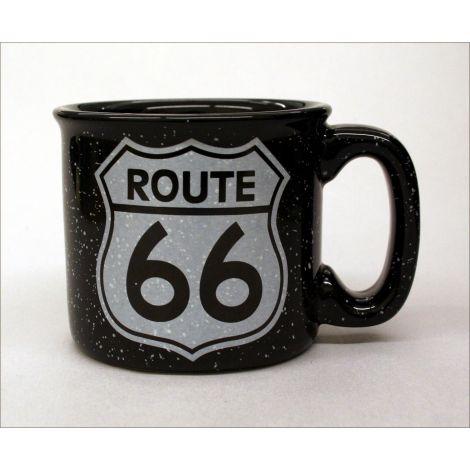 Route 66 Mug - Black