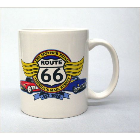 The Mother Road Route 66 Mug
