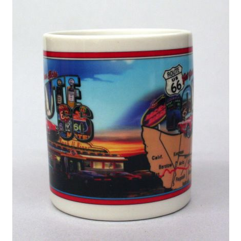 Route 66 Mug California to Chicago