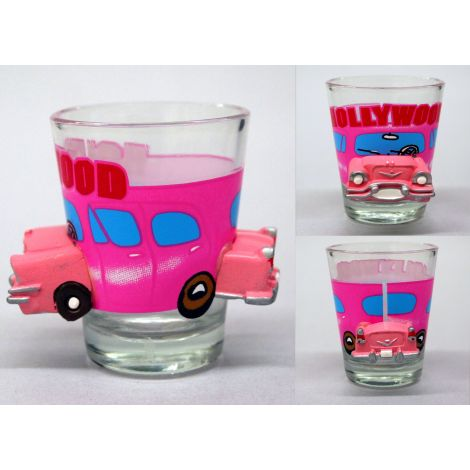Hollywood Car Shotglass