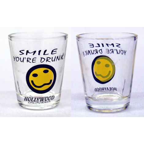 Smile You're Drunk  Shotglass