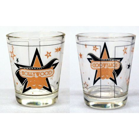 Comedy and Tragedy Shotglass