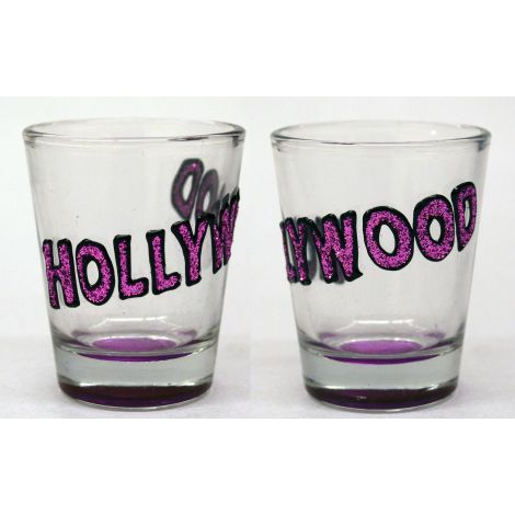 Hollywood Shotglass - Purple