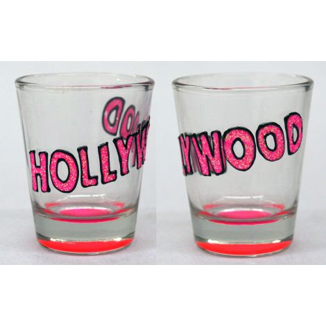 Hollywood Shotglass - Pink