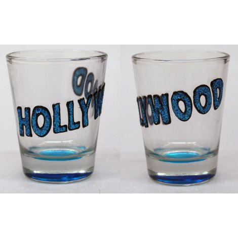 Hollywood Shotglass - Blue