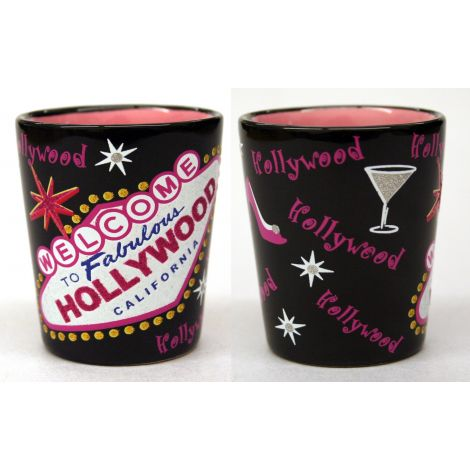 Fabulous Hollywood Shotglass