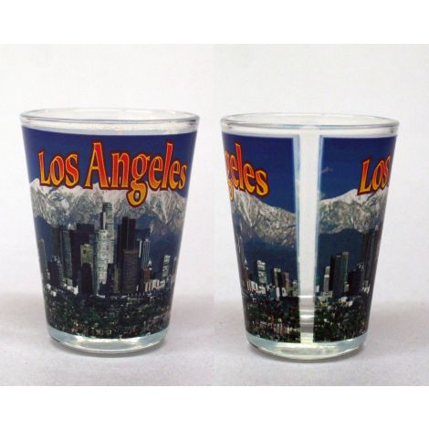 Los Angeles Panoramic View Shotglass