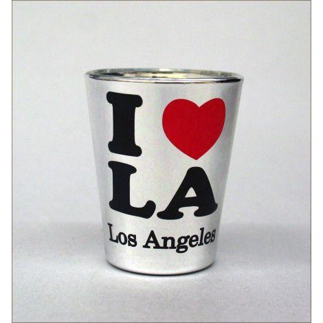 I Heart LA shotglass - Silver