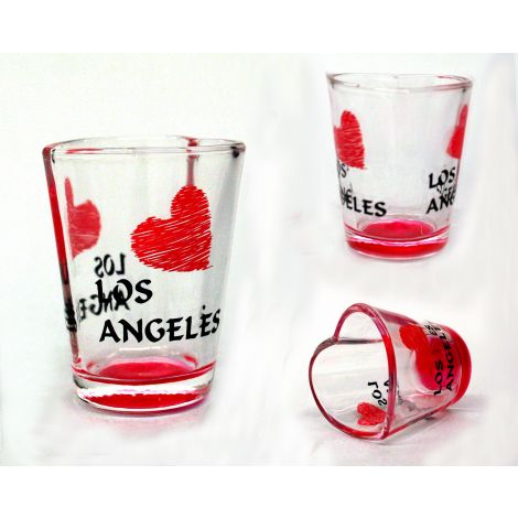 Heart Shaped Rim Shotglass