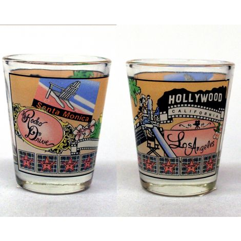 Los Angeles Movie Set Shotglass