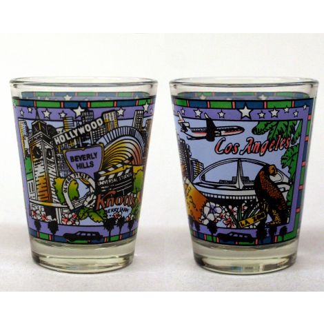 Los Angeles Landmarks Shotglass