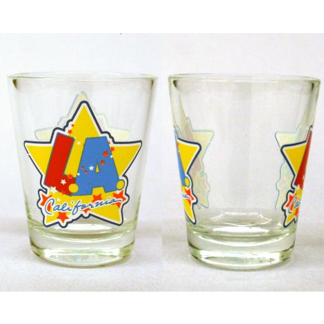 LA California Shotglass
