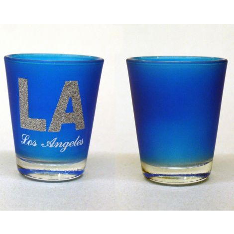 LA Shotglass - Blue