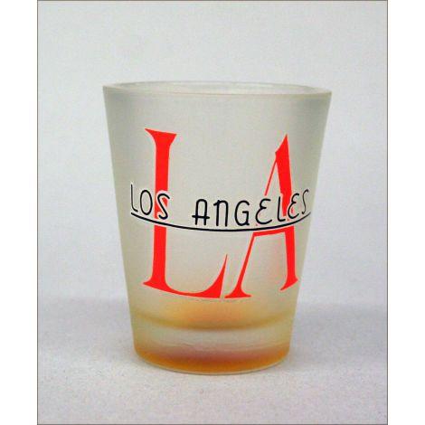 LA Shotglass Orange