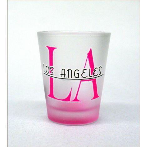 LA Shotglass Pink