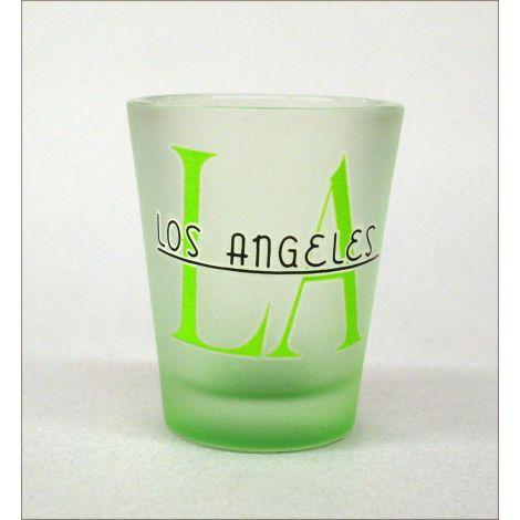 LA Shotglass Green