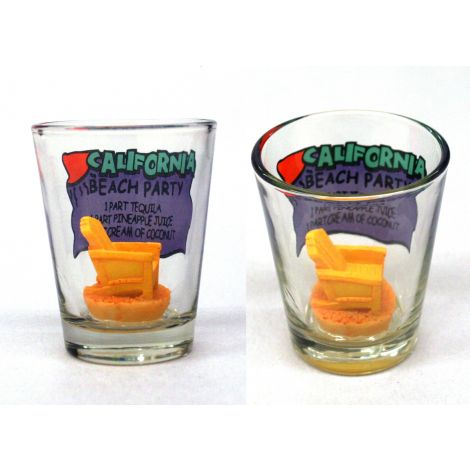 California Beach Party Shotglass