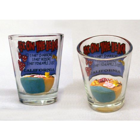 California Sex on the Beach Shotglass