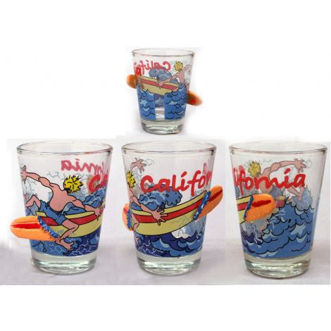 California Wave Shotglass