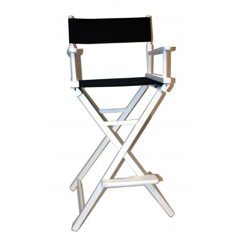 White Directors Chair (high)
