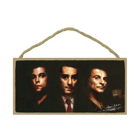 Goodfellas Wood Plaque