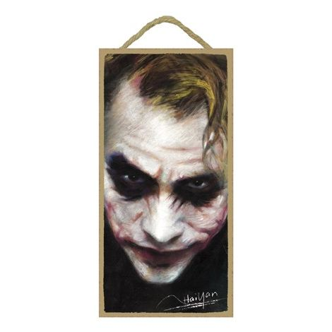 Joker Wood Plaque
