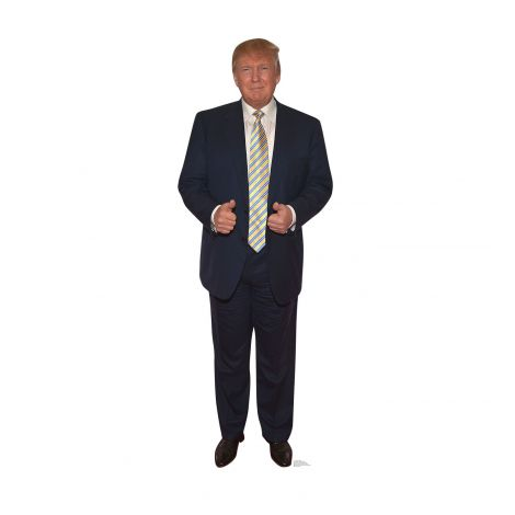 President Donald Trump Cardboard Cutout #2213