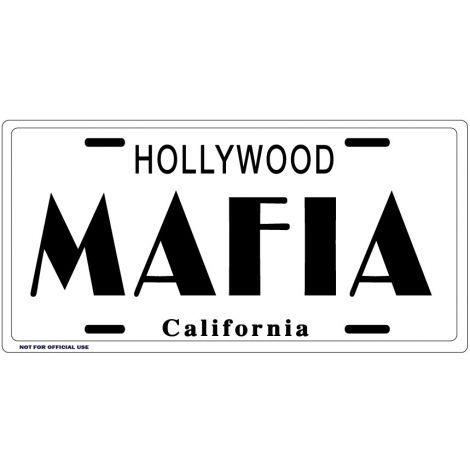 MAFIA License Plate