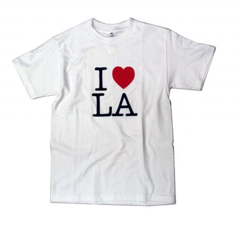 I LOVE LA T-Shirt - White