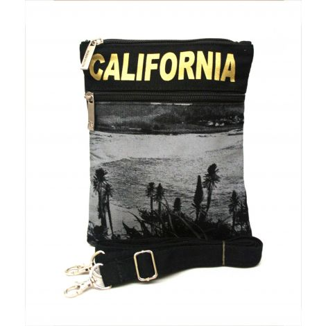 Gold California Neck Wallet