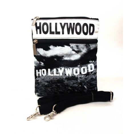White Hollywood Neck Wallet